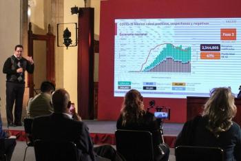 En ocho meses de pandemia,  México rebasa las 90 mil muertes