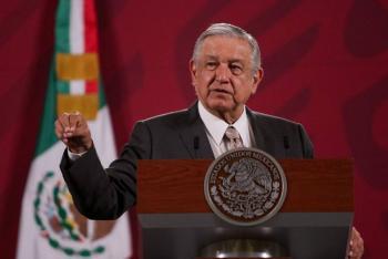 """""""Dialogamos siempre y cuando no haya politiquería"""", responde AMLO a gobernadores"""
