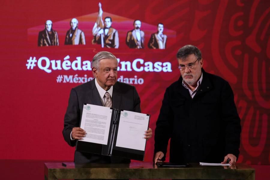 MÉXICO ACUERDA CON ONU COMPRA DE MEDICAMENTOS EN EXTRANJERO