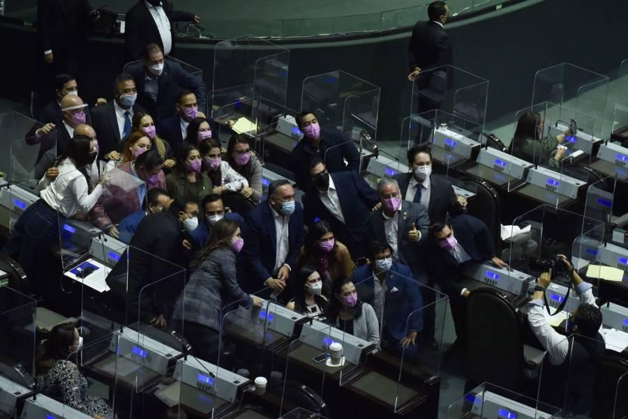 280 contagios en la Cámara de Diputados
