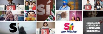 PRI, PAN y PRD se unen a Si por México