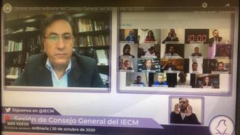 IECM define topes de gastos de precampaña para aspirantes a candidaturas de partidos