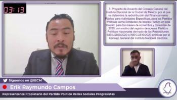 Sergio Valdés propone plan de reactivación económica para la alcaldía Álvaro Obregón