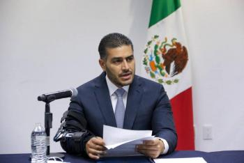Omar García Harfuch felicita por nominación a la SSPC de Rosa Icela