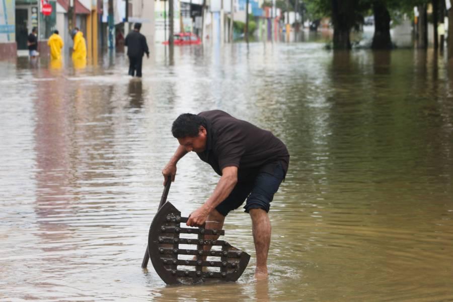Autoridades emiten declaratoria de emergencia por lluvias en Tabasco