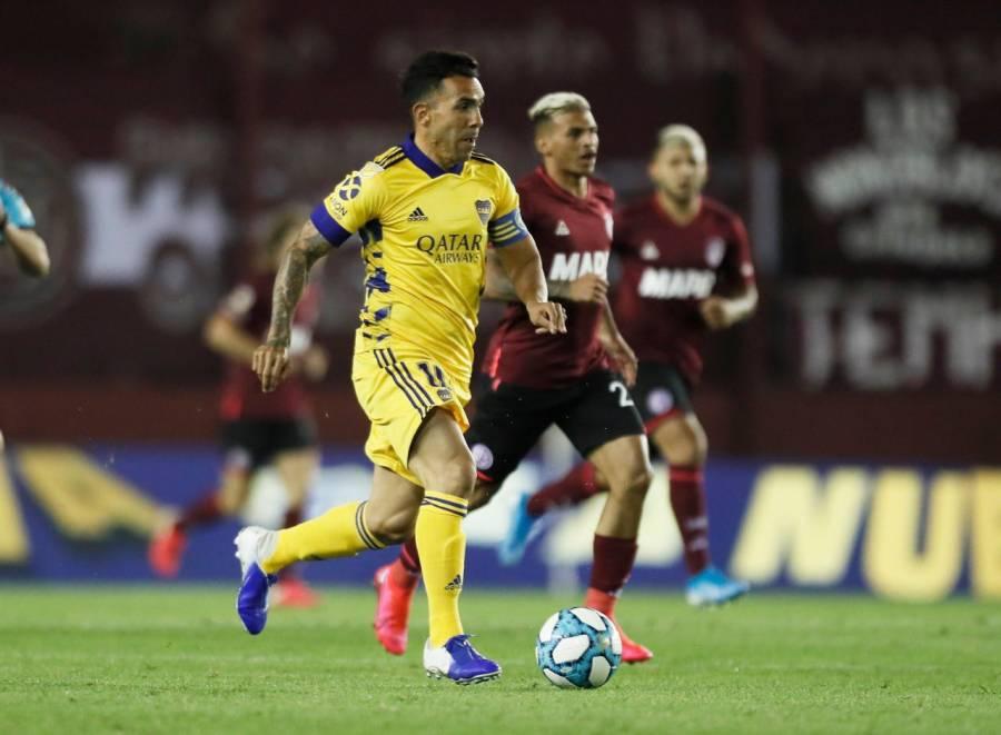Boca Juniors se impone a Lanús 2 a 1 y se mantiene invicto