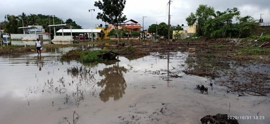 La SSPC estima más de 50 mil afectados por lluvias intensas en Chiapas, Veracruz y Tabasco