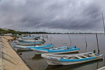 Cierran puertos en Campeche por el frente frío 9