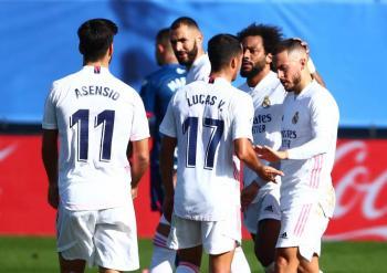 Real Madrid golea al Huesca; Hazard marca un año después