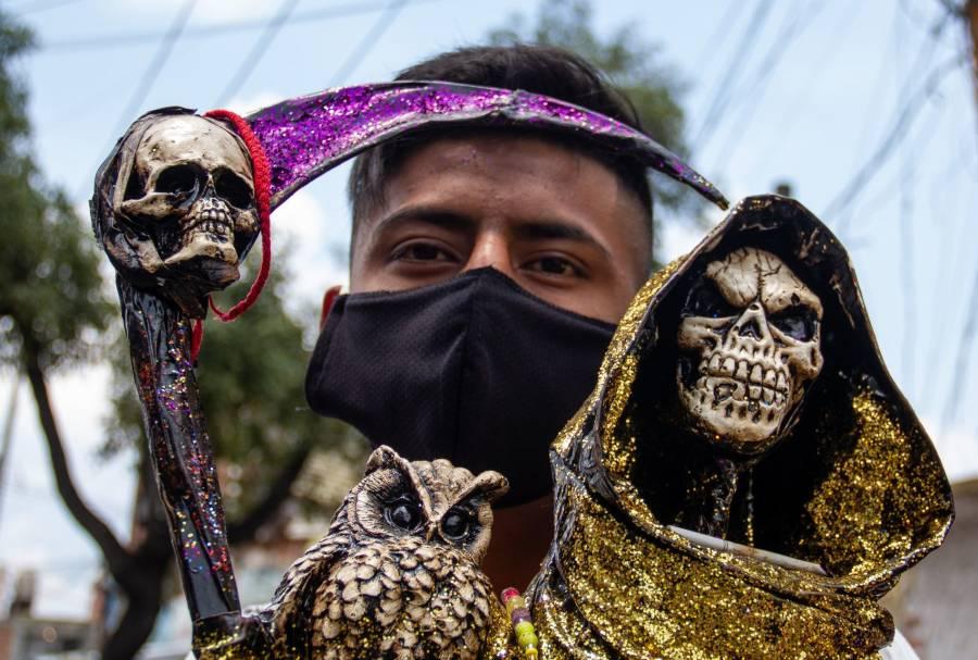 Iglesia Potosina pide no creer en la Santa Muerte