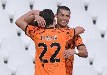 Cristiano Ronaldo anota doblete en la goleada de la Juventus sobre el Spezia