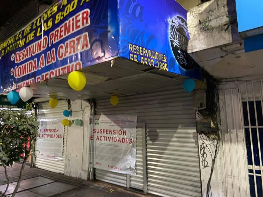 CLAUSURA INVEA 9 ESTABLECIMIEMTOS POR VENTA DE BEBIDAS ALCOHOLICAS