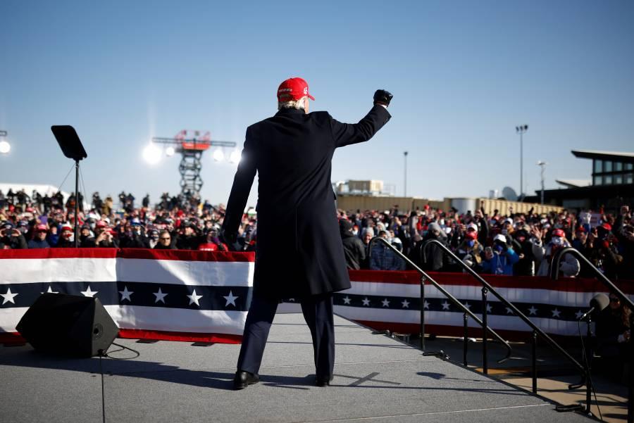 Mítines de Trump, foco de  30 mil contagios: expertos
