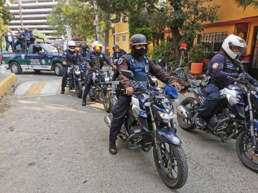 Suspenden 20 fiestas en Cuajimalpa a través de operativos especiales