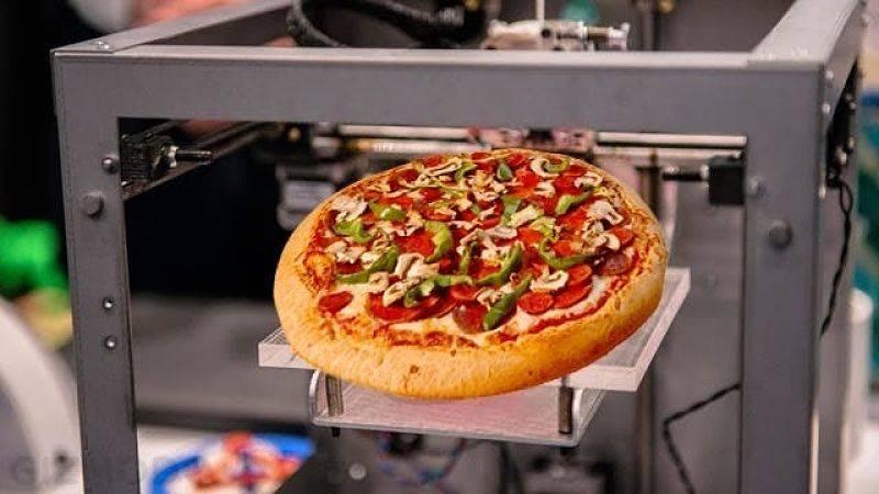 Alimentos impresos en 3D podrían respaldar los esfuerzos en salud