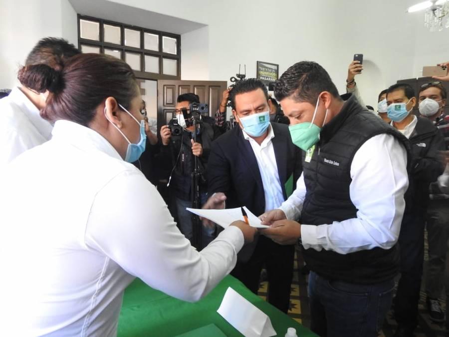 Se registra Gallardo Cardona como precandidato del PVEM al gobierno del San Luis Potosí