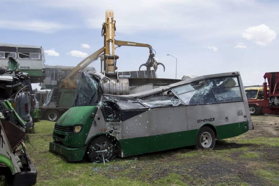 Semovi dará más de 200 mdp para la renovación de microbuses