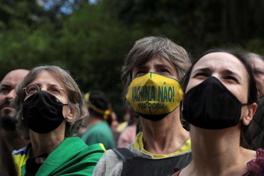 Brasil supera las 160 mil muertes por COVID-19