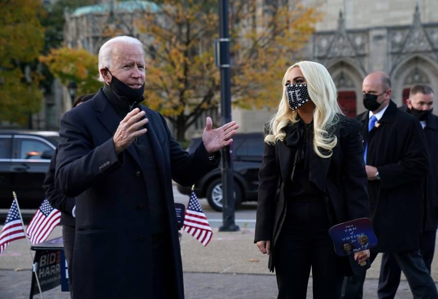 Encuestas le dan victoria a  Biden en 8 de los 10 estados clave