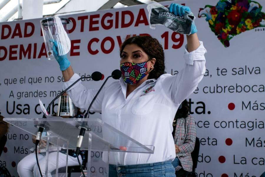 Clara Brugada, alcaldesa de Iztapalapa, positivo a COVID-19