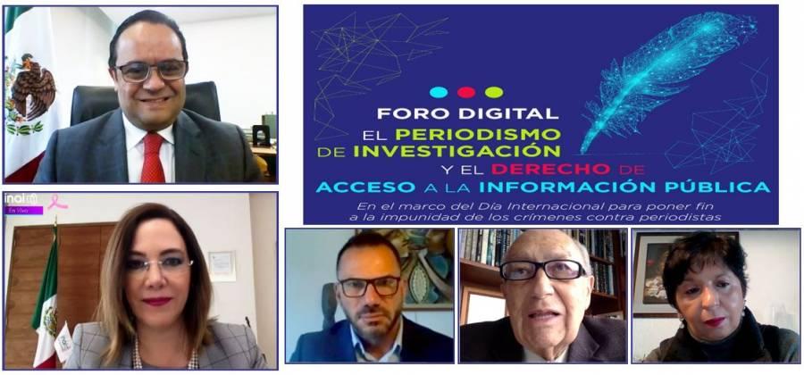INAI y UNESCO piden garantizar seguridad de periodistas