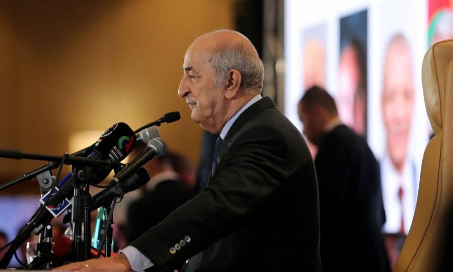 Presidente de Argelia es hospitalizado por Covid-19