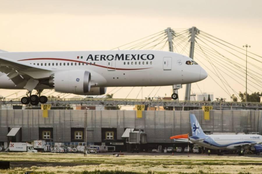 Aeroméxico solicita autorización a Corte para despedir a 1,830 trabajadores