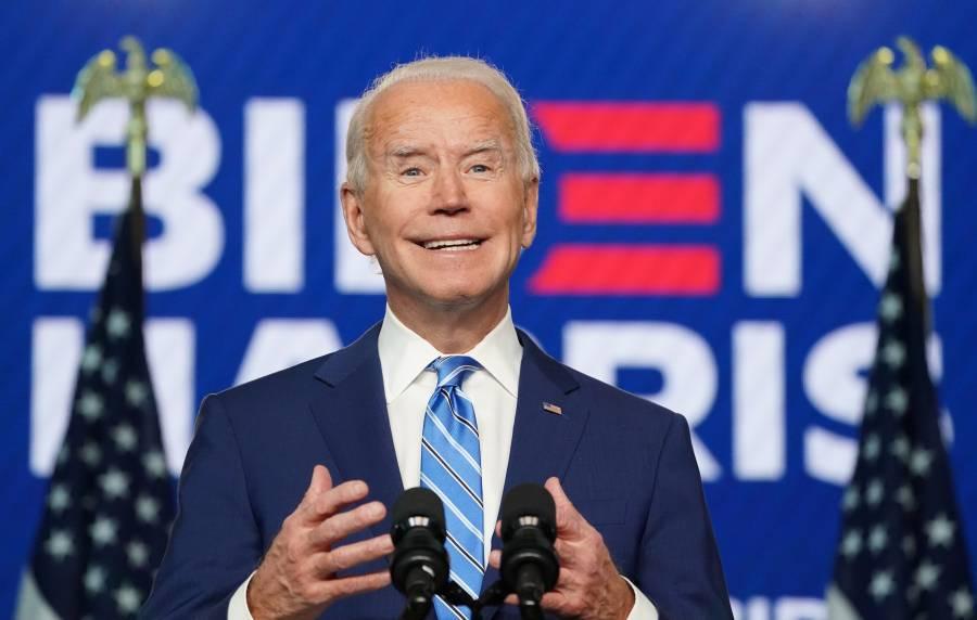 Joe Biden asegura que está convencido de su triunfo