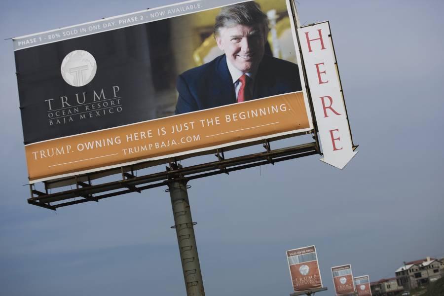 """Trump hizo fraudes en 2006 en México como indocumentado"""