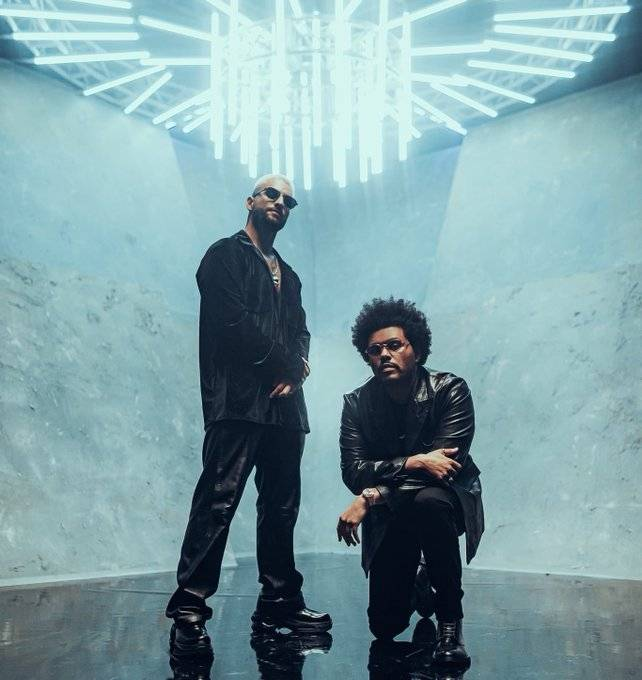 ¿Maluma y The Weeknd preparan colaboración musical juntos?