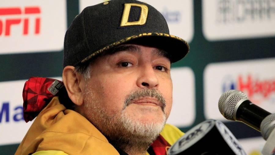 Maradona se encuentra