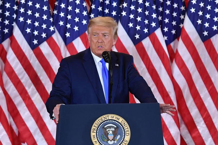 Si cuentan los votos legales gané fácilmente, dice Trump