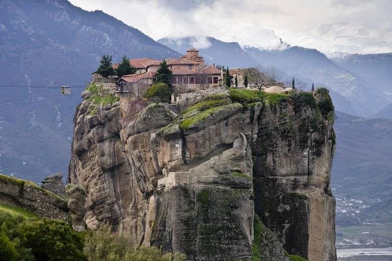 Conoce los famosos Monasterios de Meteora, en Grecia
