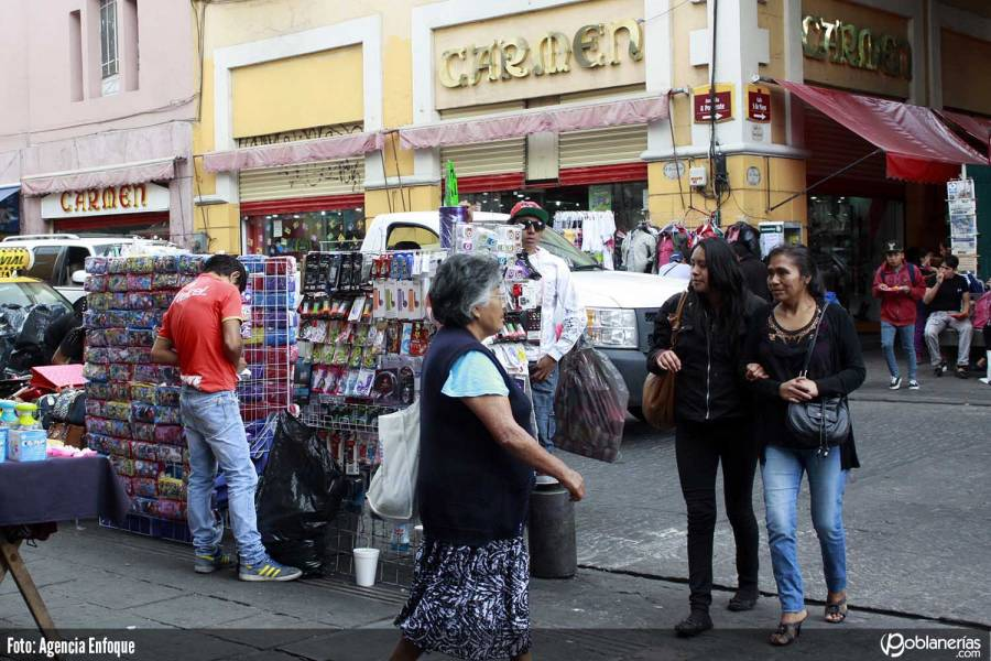 …Y en Puebla ambulantes sacan casi un mdp de ellas