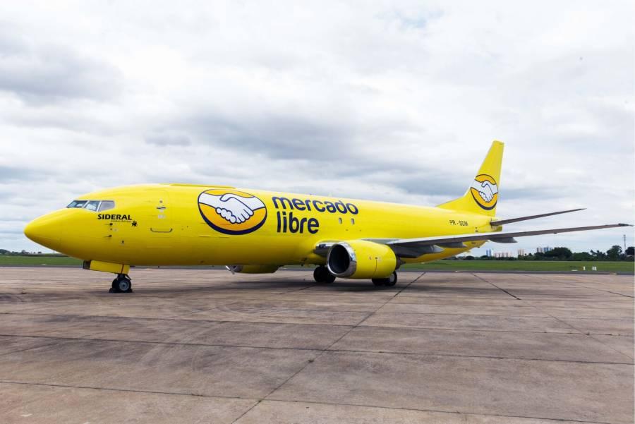 Mercado Libre agrega aviones a su flotilla logística en México