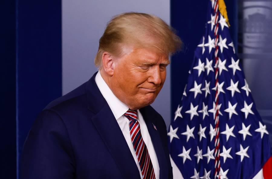 Televisoras en EEUU cortan mensaje de Trump por denunciar fraude sin pruebas