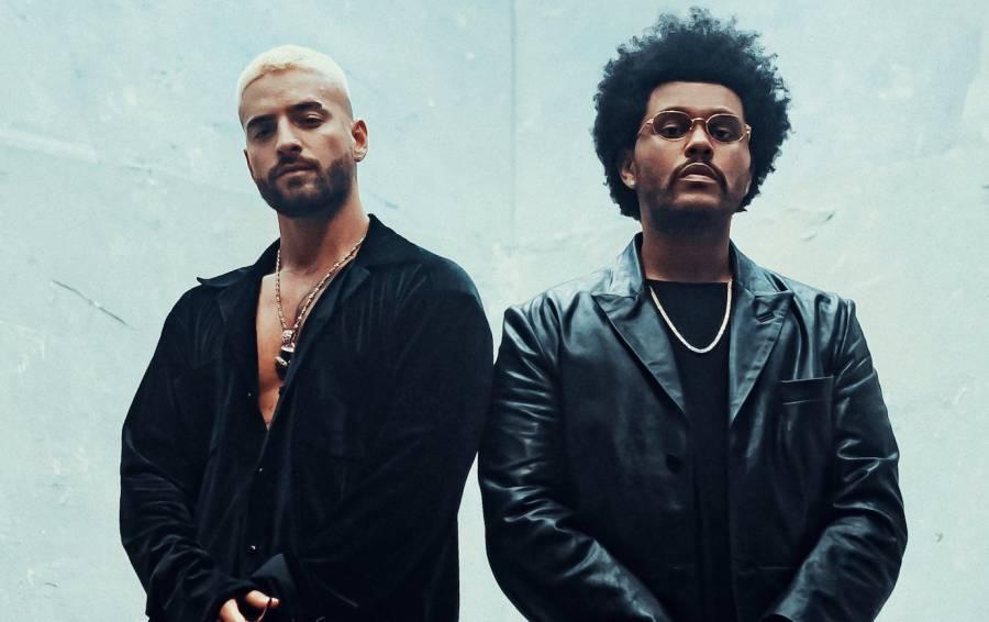 ¡The Weeknd canta en español! Maluma estrena remix de