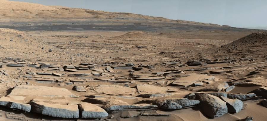 Curiosity descubre evidencias de antiguas inundaciones gigantes en cráter de Marte