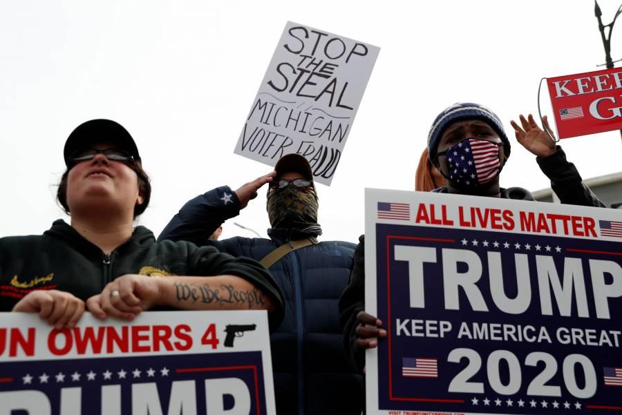 Donald Trump demandaría en Nevada por realización de votos 'fraudulentos'