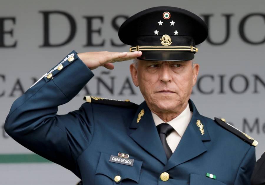 """Salvador Cienfuegos se declara """"no culpable"""" en NY"""