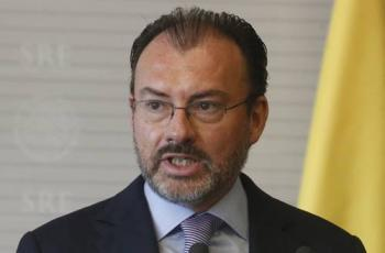 Desiste FGR de orden de aprehensión contra Luis Videgaray