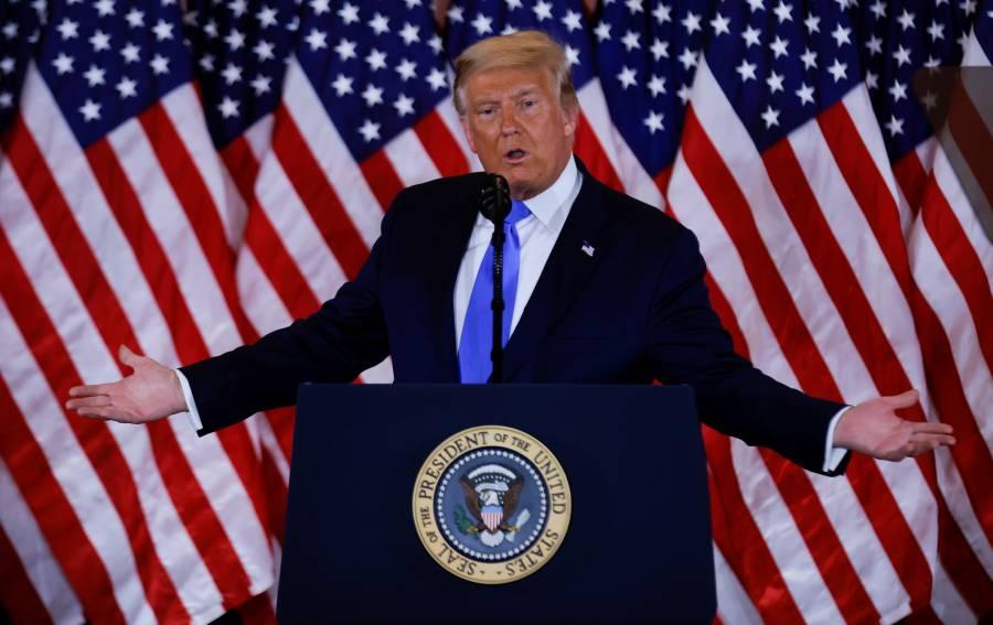Biden no debería declararse ganador, advierte Trump