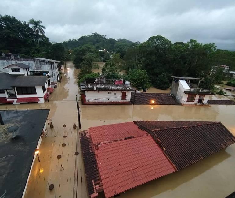 Pueblo Mágico de Tapijulapa, Tabasco, también se inunda
