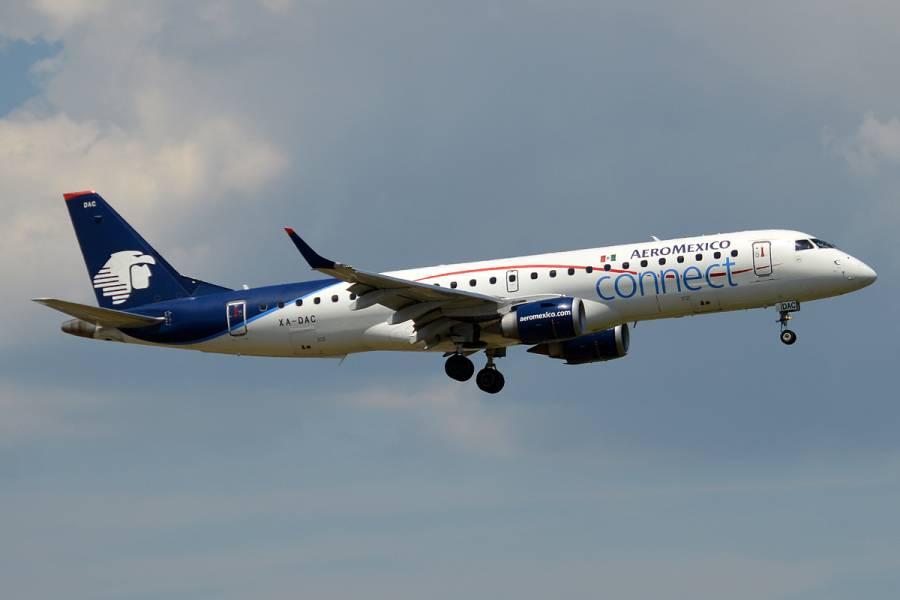 Crece número de pasajeros en Aeroméxico