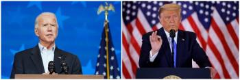 Remonta Biden en Pensilvania y Georgia