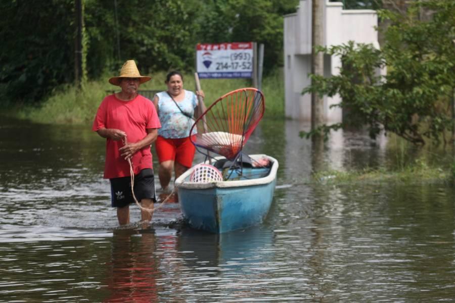 Al menos 21 personas muertas tras lluvias e inundaciones en el sureste de México