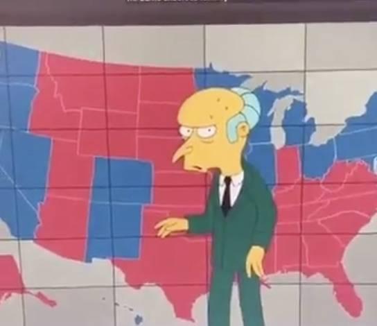 Los Simpson predicen victoria de Joe Biden
