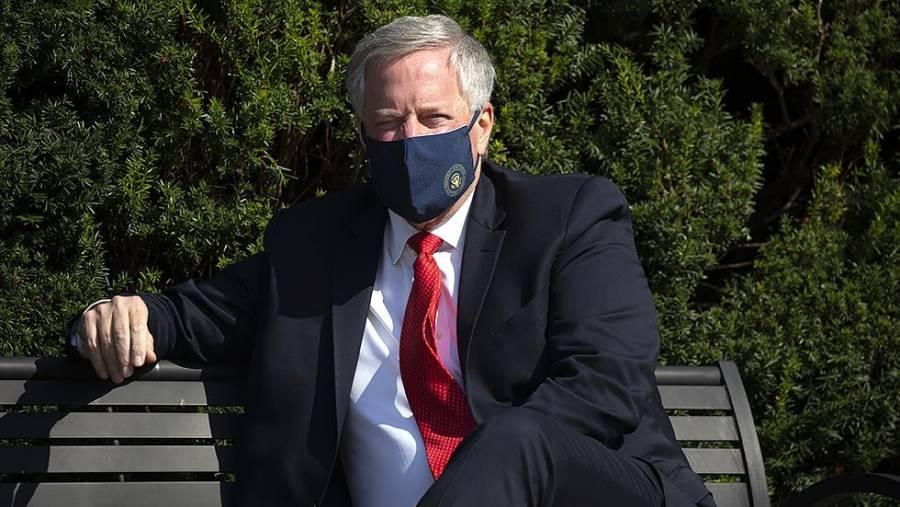 Mark Meadows, jefe de gabinete de la Casa Blanca, da positivo a coronavirus