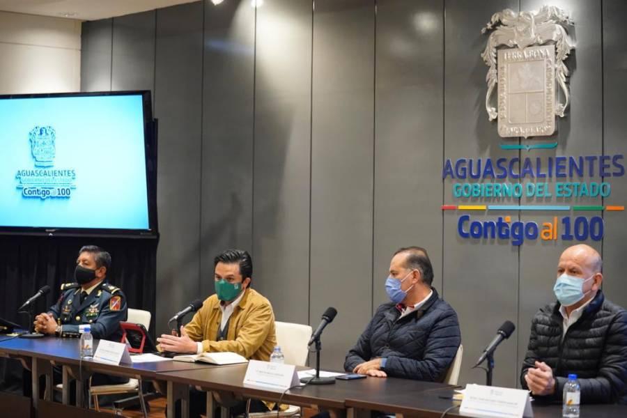 Gobierno de Aguascalientes, IMSS e INSABI anuncian acciones para ampliar capacidad hospitalaria