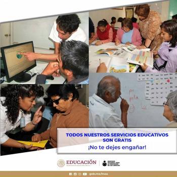 INEA aplicará evaluaciones en Plazas Comunitarias para quienes deseen concluir la educación primaria